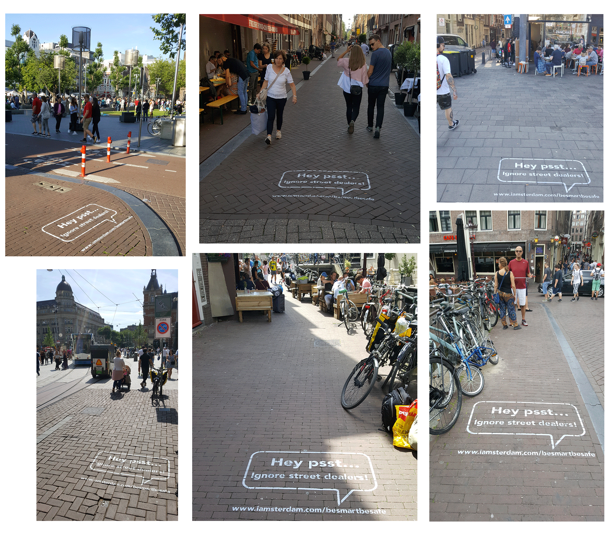 StreetAds Marketing Campagne voor de Gemeente Amsterdam